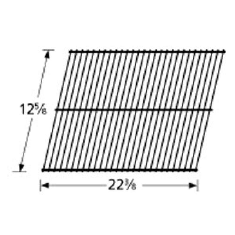 "9953601 Porcelain Steel Wire Cooking Grid 12.625"" x 22.375"""