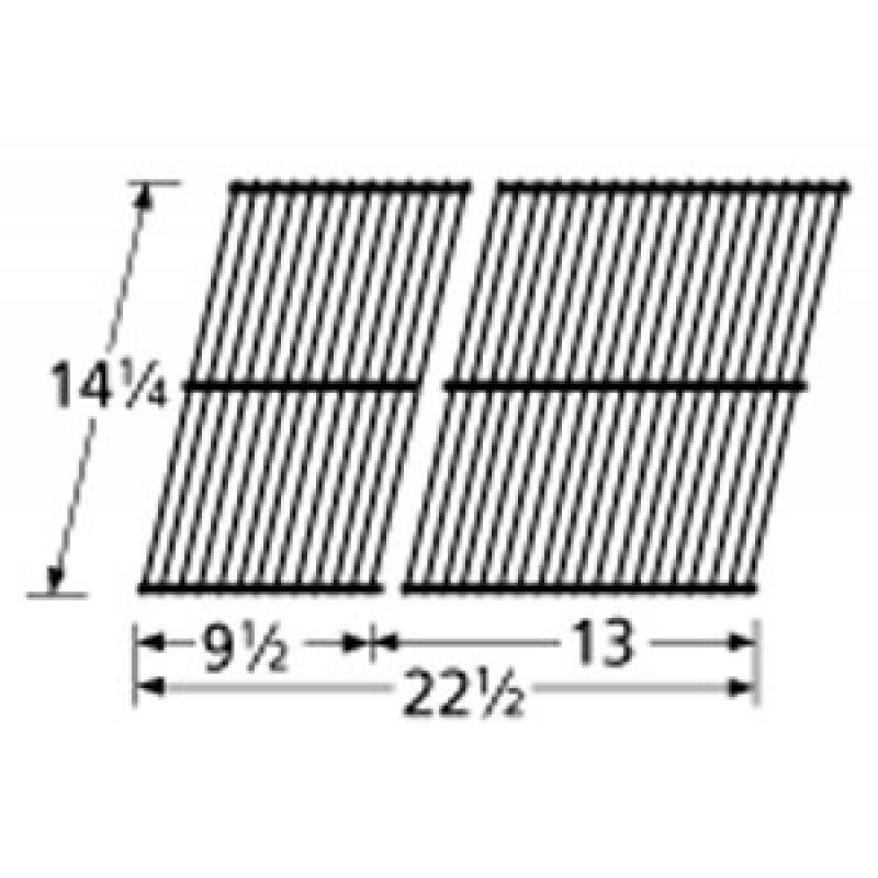 9954232 Grid Porc Stl Wire 14.25 X 22.5 Arkla Fiesta
