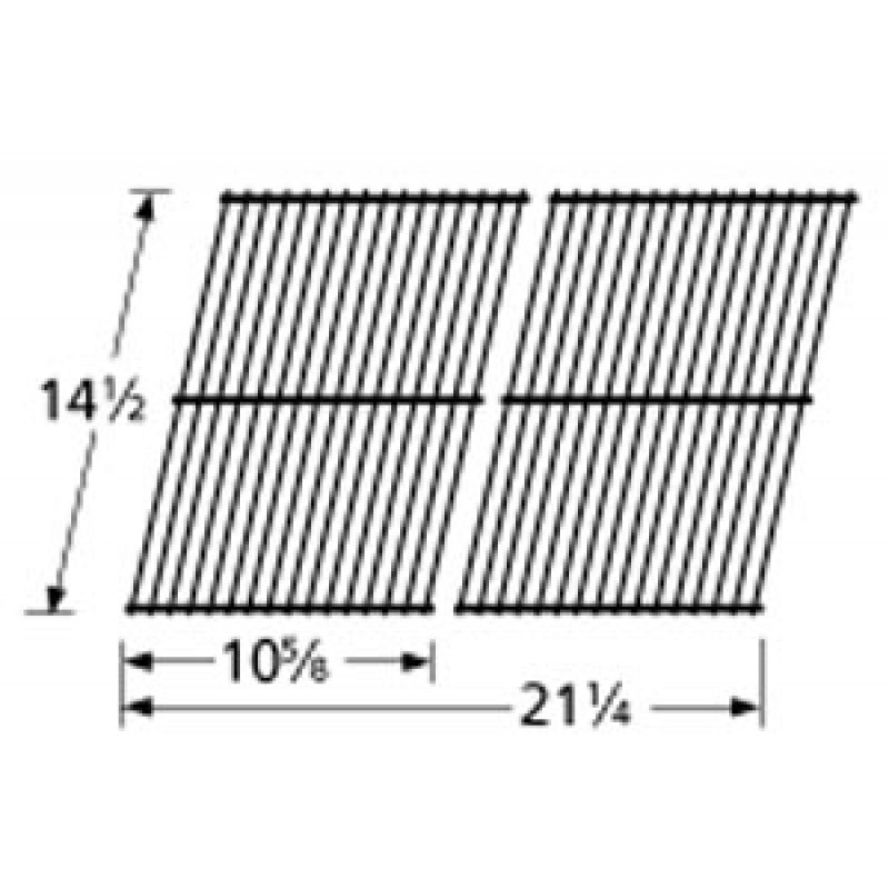 "9954402 Porcelain Steel Wire Cooking Grid 14.5"" x 21.25"""