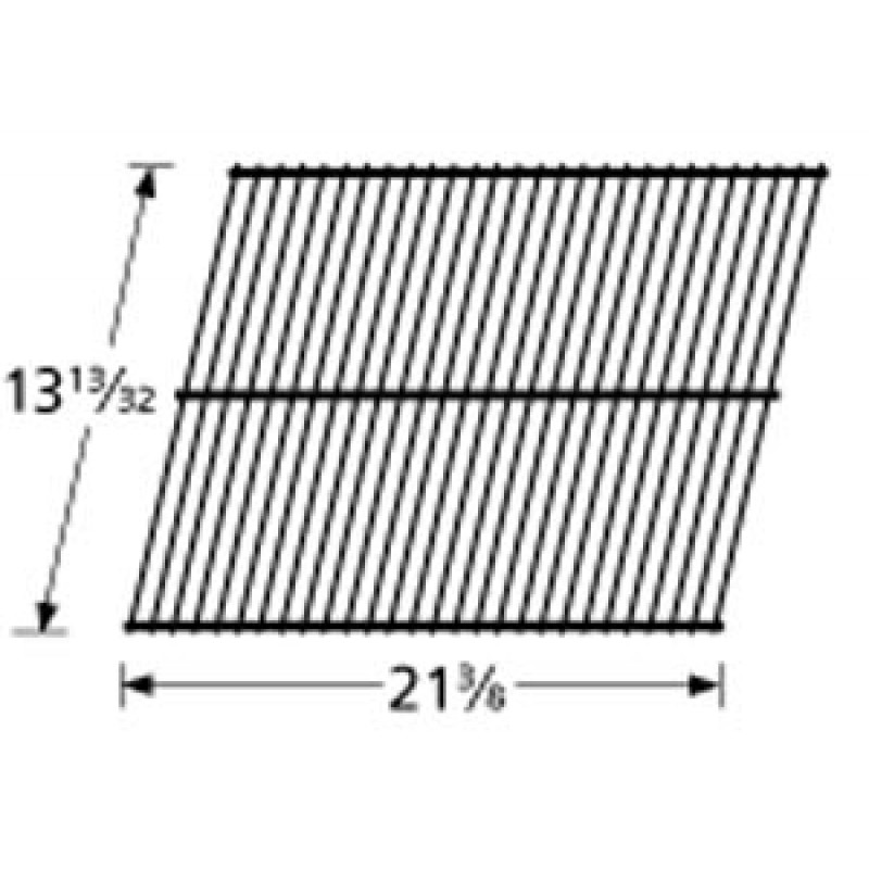 "SP43-3 Porcelain Steel Wire Cooking Grid 13.40625"" x 21.375"""