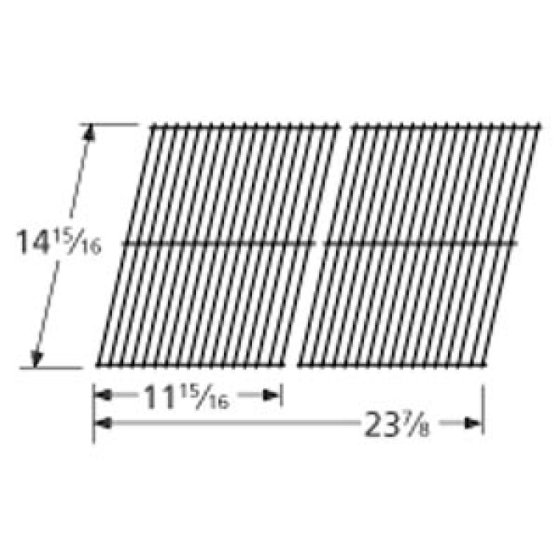"""7000028 Charbroil Porcelain Steel Wire Cooking Grid 14.9375"""" x 23.875"""""""