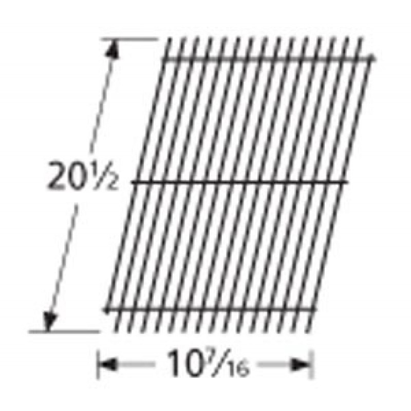 """9954801 Porcelain Steel Wire Cooking Grid 20.5"""" x 10.4375"""""""