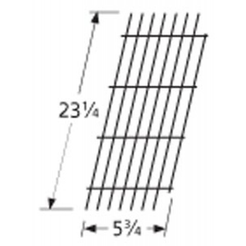 """9954921 Porcelain Steel Wire Cooking Grid 23.25"""" x 5.75"""""""