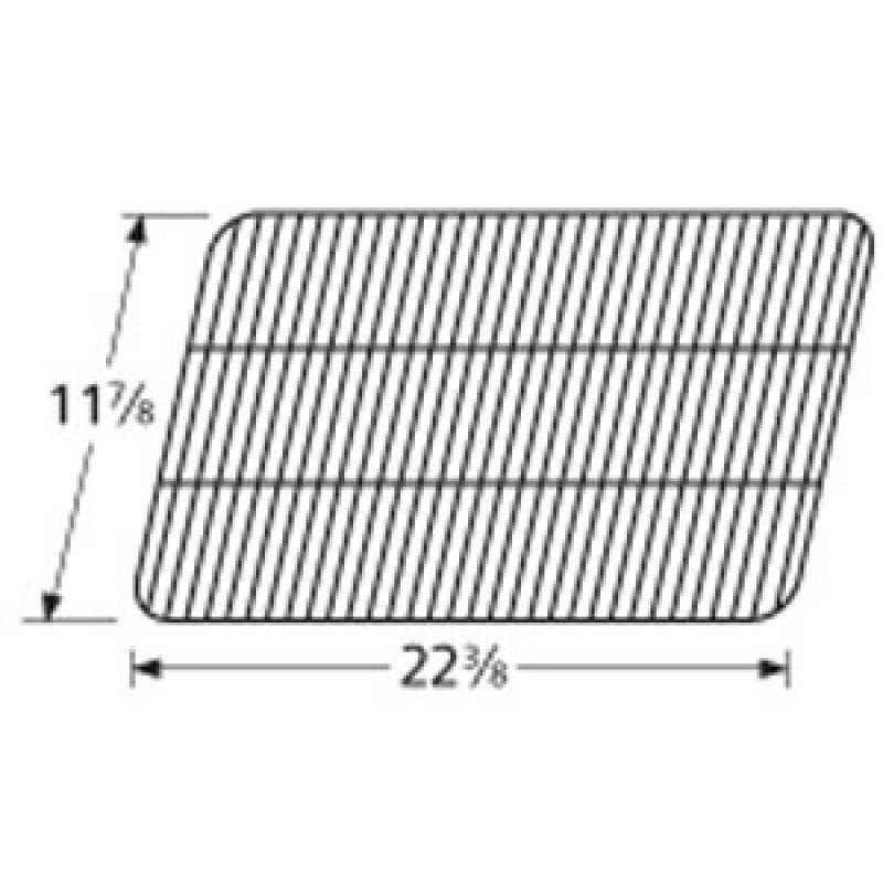 "9955081 Porcelain Steel Wire Cooking Grid 11.875"" x 22.375"""