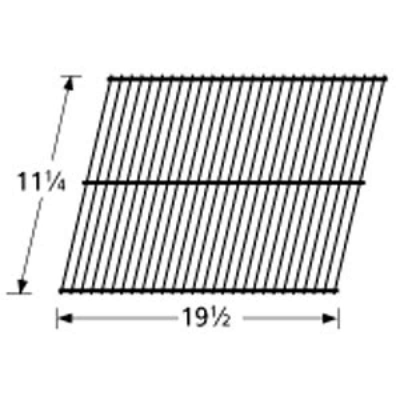 "9955501 Porcelain Steel Wire Cooking Grid 11.25"" x 19.5"""
