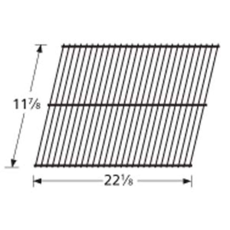 "9955601 Porcelain Steel Wire Cooking Grid 11.875"" x 22.125"""