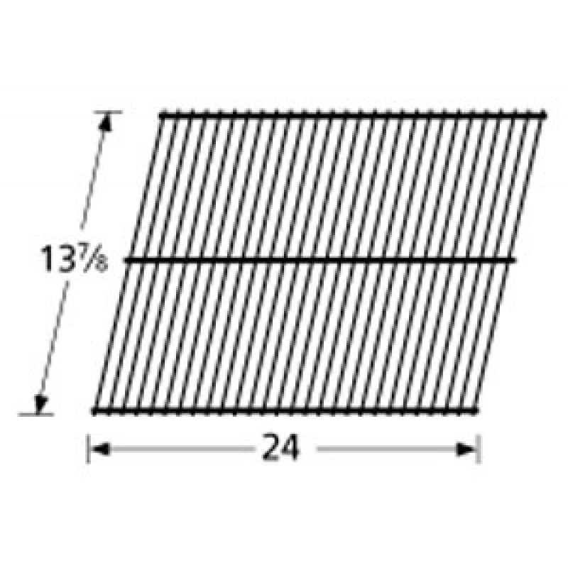 "4152739 Charbroil Porcelain Steel Wire Cooking Grid 13.875"" x 24"""