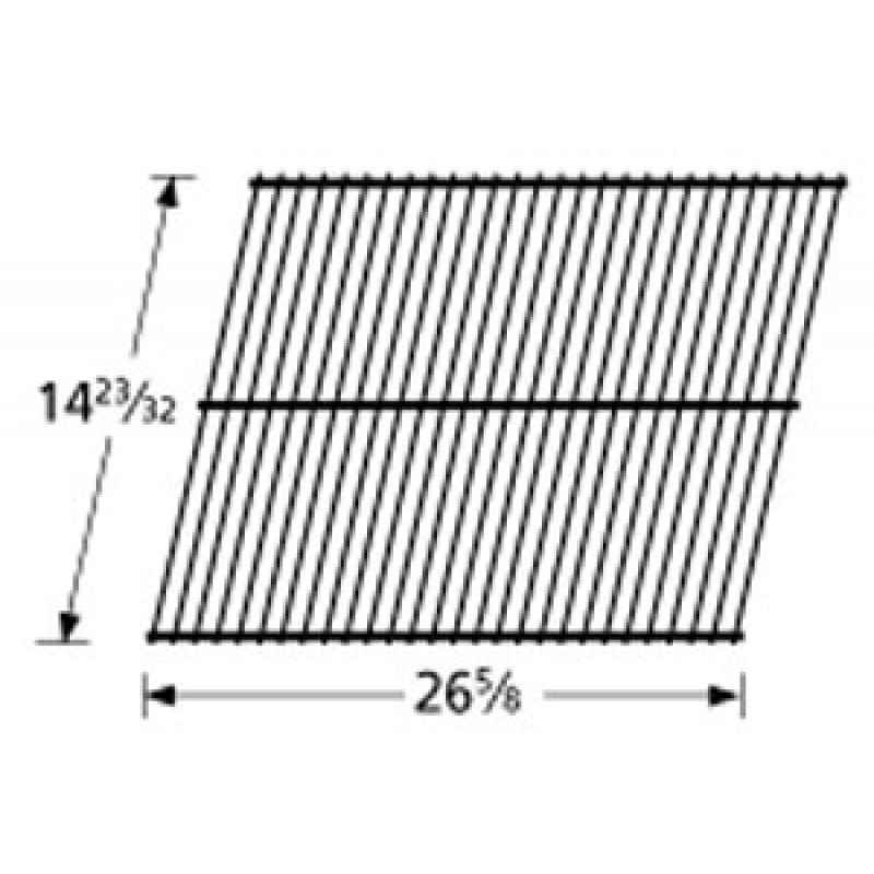 """4152741 Charbroil Porcelain Steel Wire Cooking Grid 14.71875"""" x 26.625"""""""