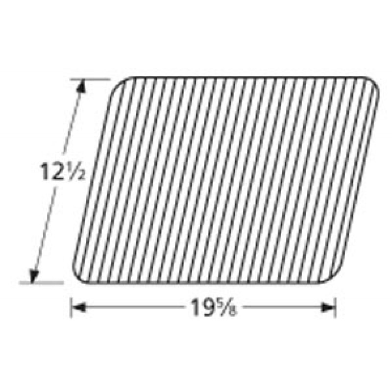 "9956041 Porcelain Steel Wire Cooking Grid 12.5"" x 19.625"""