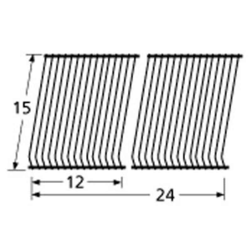 "9956102 Porcelain Steel Wire Cooking Grid 15"" x 24"""