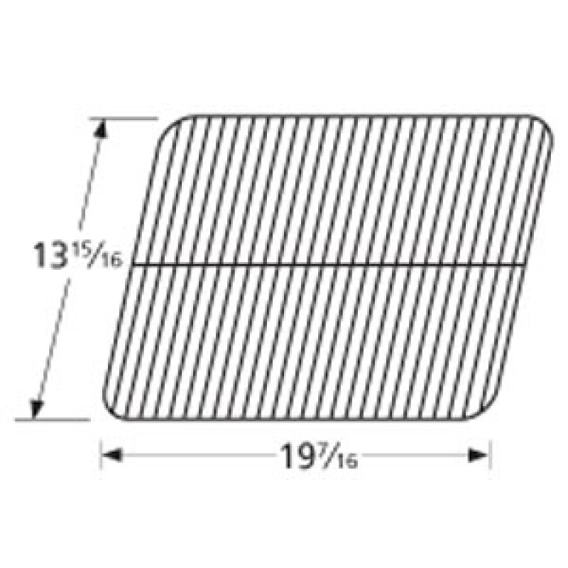 "9956121 Porcelain Steel Wire Cooking Grid 13.9375"" x 19.4375"""