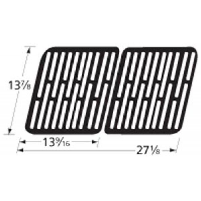 "9956132 Stamped Porcelain Steel Cooking Grid 13.875"" x 27.125"""