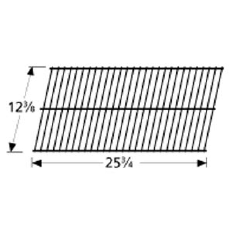 "9956401 Porcelain Steel Wire Cooking Grid 12.375"" x 25.75"""