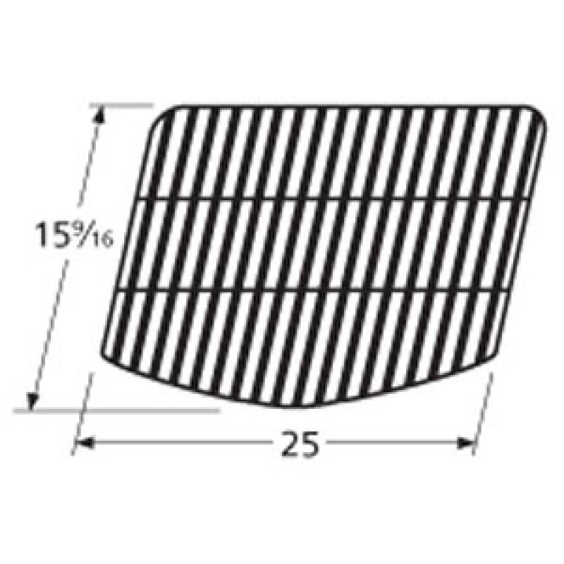 """9958201 Porcelain Steel Wire Cooking Grid 15.5625"""" x 25"""""""