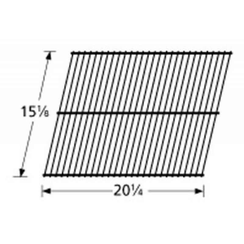 "9959001 Porcelain Steel Wire Cooking Grid 15.125"" x 20.25"""