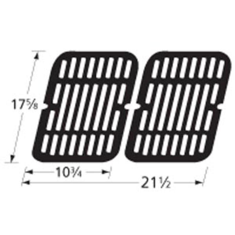"9959202 Stamped Porcelain Steel Cooking Grid 17.625"" x 21.5"""