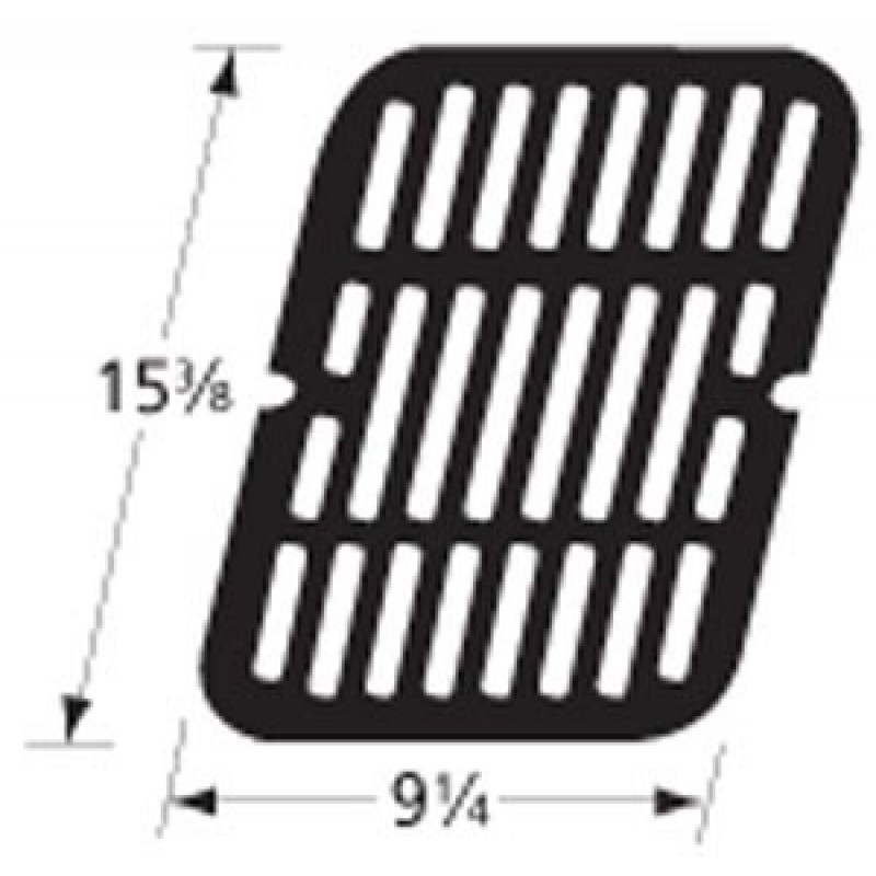 "9959411 Stamped Porcelain Steel Cooking Grid 15.375"" x 9.25"""