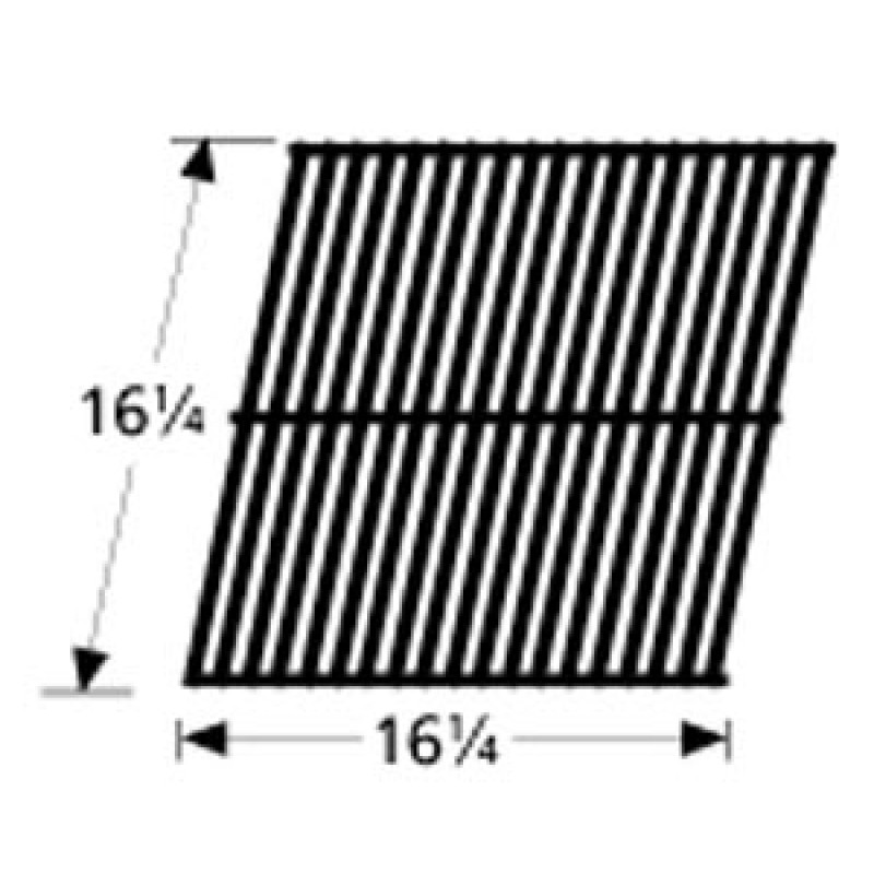"995A021 Porcelain Steel Wire Cooking Grid 16.25"" x 16.25"""