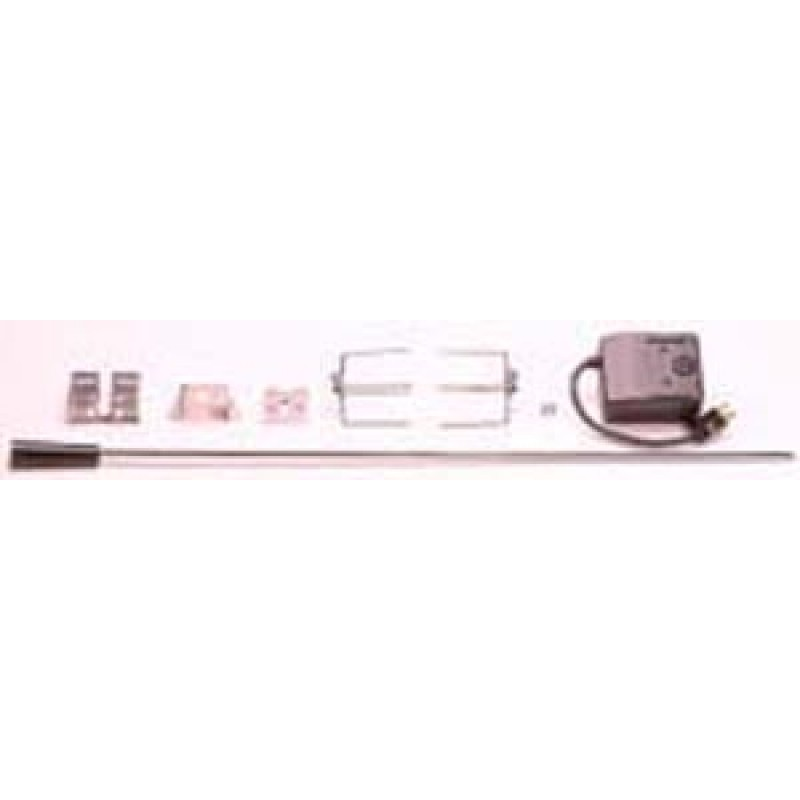9960040 Universal Rotisserie Kit. Includes Csa Approved Motor, 32in Spit Rod, 4 Prong Meat Forks, Instructions And Mounting Hardware. Fits Most Gas Grills.