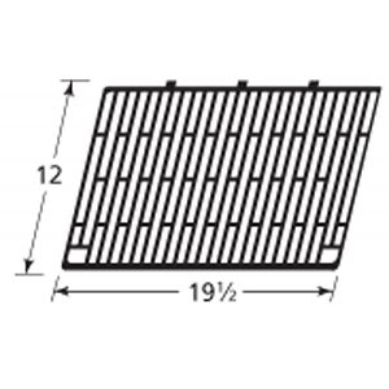 "2502 003 Sunbeam Cast Iron Cooking Grid 12"" x 19.5"""