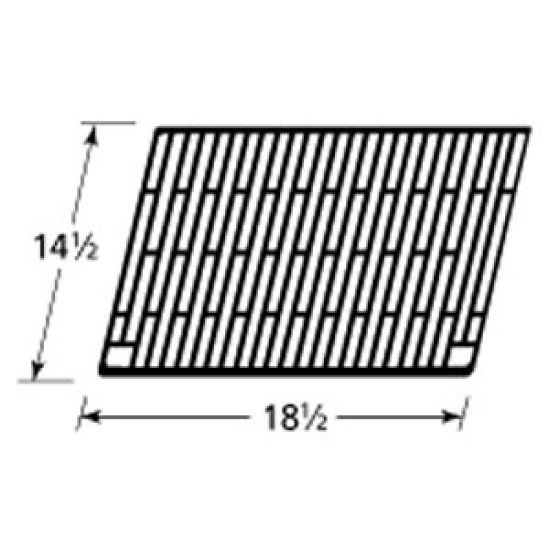 "3812 0120 73 Charmglow Cast Iron Cooking Grid 14.5"" x 18.5"""