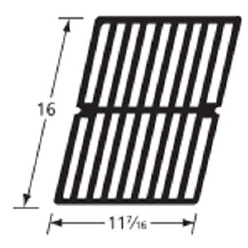 """9963421 Cast Iron Cooking Grid 16"""" x 11.4375"""""""