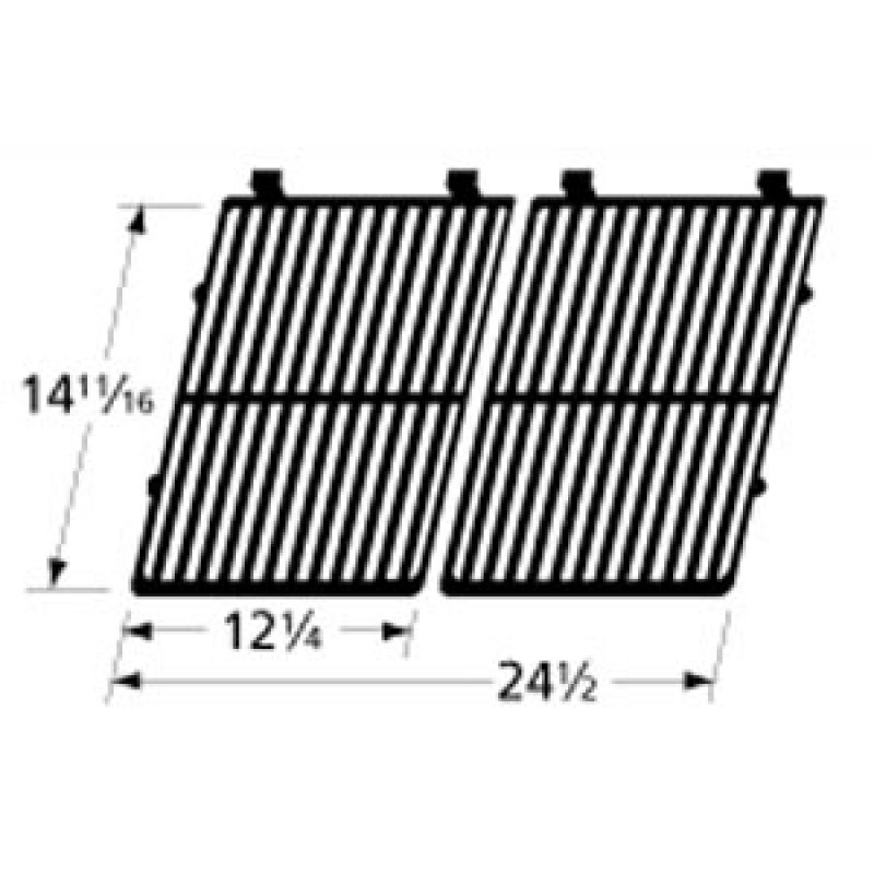 """9964292 Cast Iron Cooking Grid 14.6875"""" x 24.5"""""""