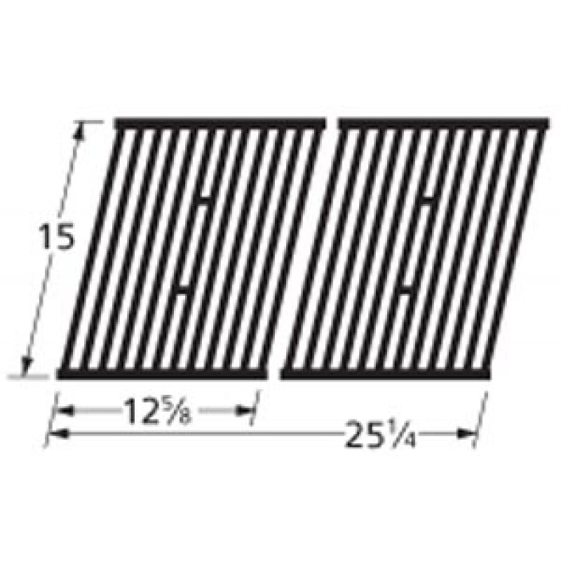 "9964362 Cast Iron Cooking Grid 15"" x 25.25"""