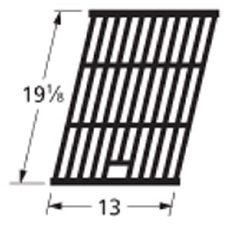 """9965041 Cast Iron Cooking Grid 19.125"""" x 13"""""""