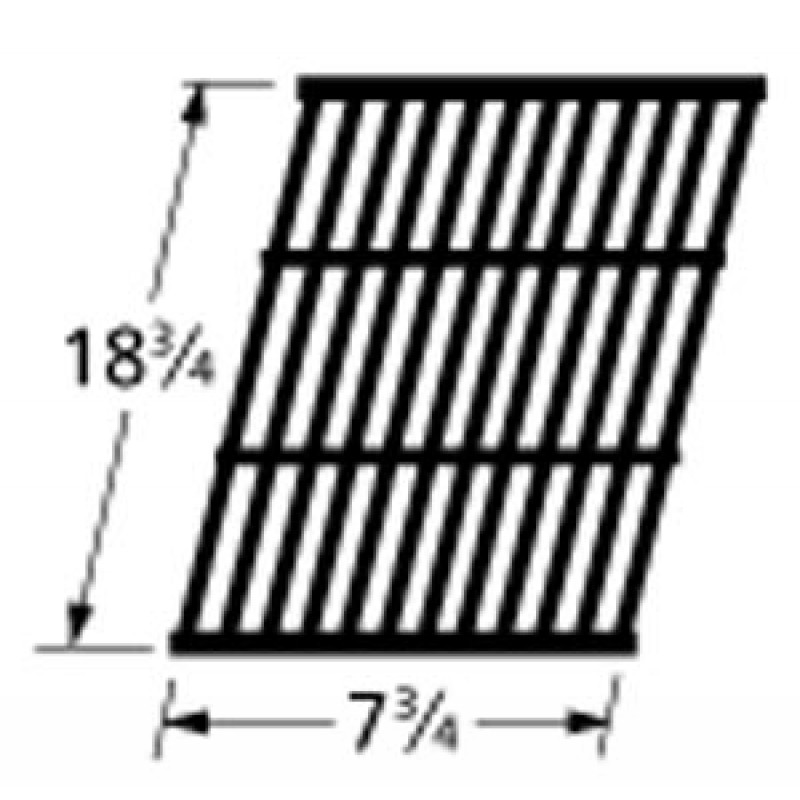 """9965131 Cast Iron Cooking Grid 18.75"""" x 7.75"""""""