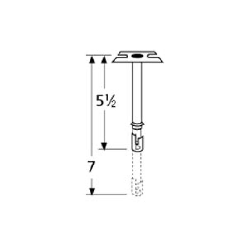 9970301 Straight Adjustable Single Venturi