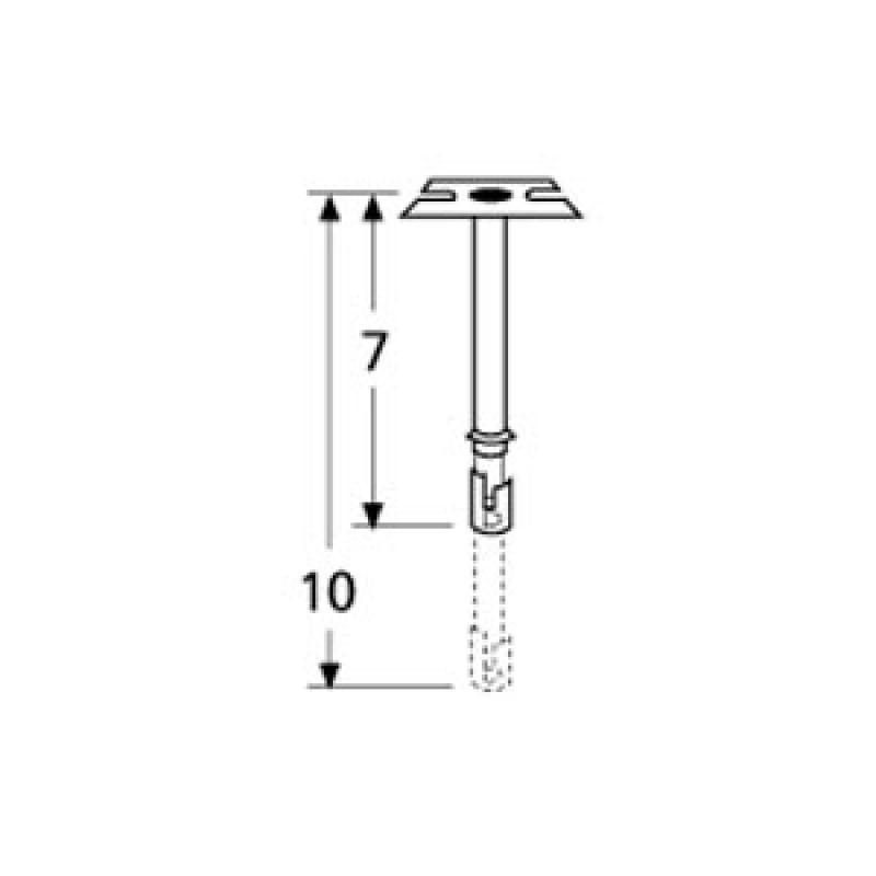 9970401 Straight Adjustable Single Venturi