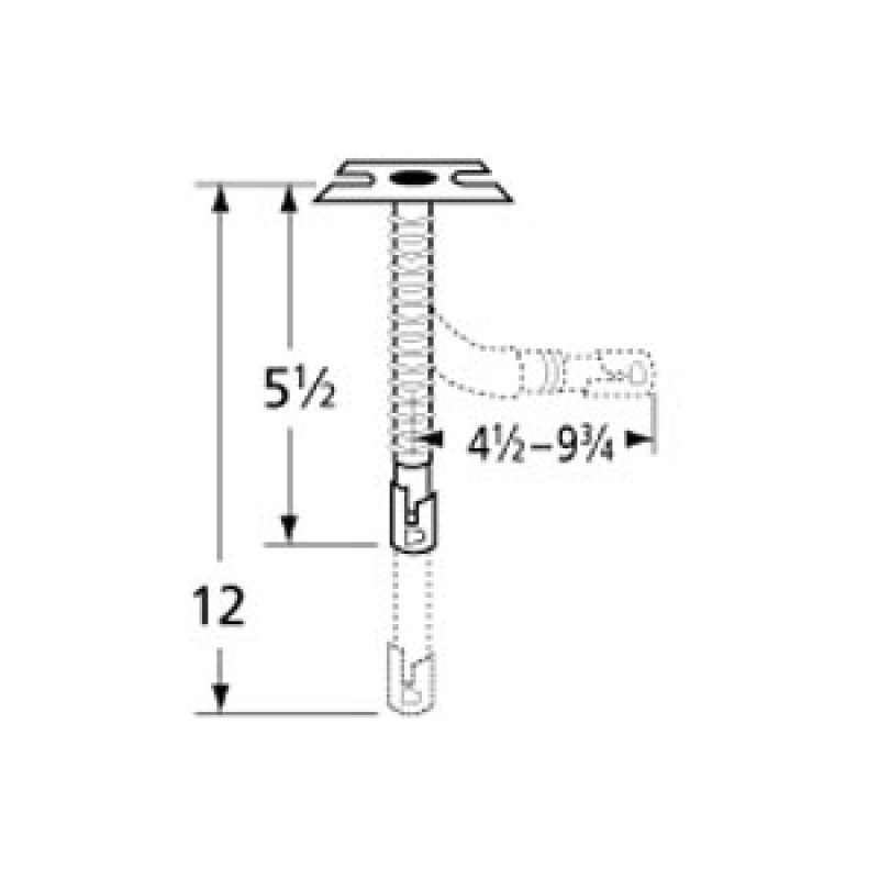 "9972401 Universal Single Venturi 9.75"" x 12"""