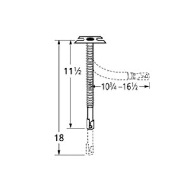 "9972411 Universal Single Venturi 16.5"" x 18"""