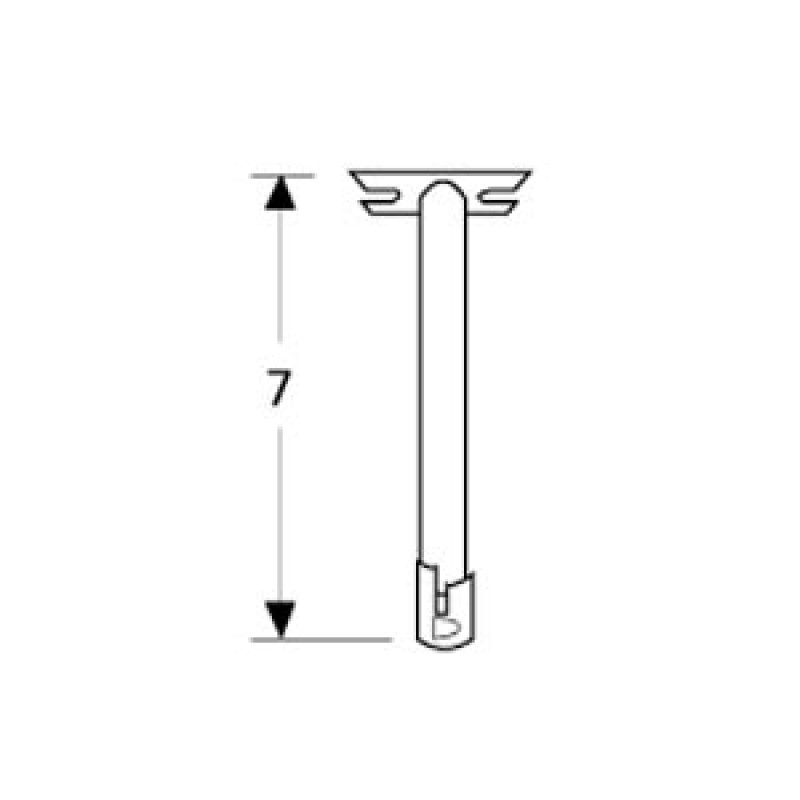 9972601 Straight Fixed Single Venturi