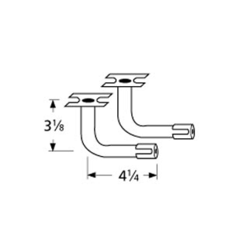 "9973112 L-Shaped Venturi Pair 4.25"" x 3.125"""