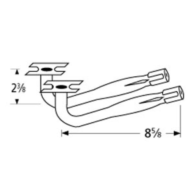 """40 2552 Sunbeam Special Venturi Pair 7"""" x 4.125"""""""