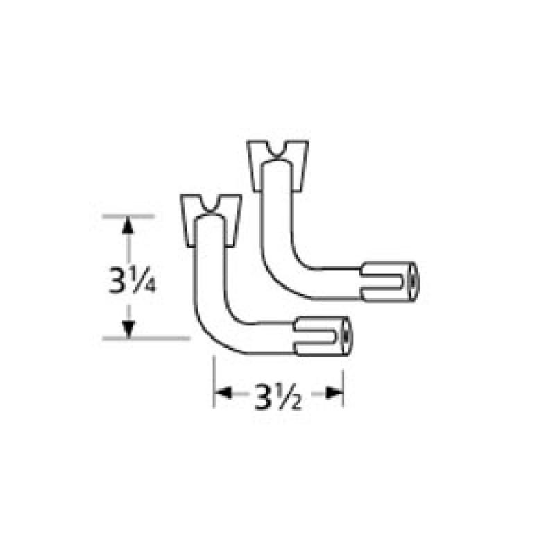 """9976802 Special Venturi Pair 3.5"""" x 3.25"""""""