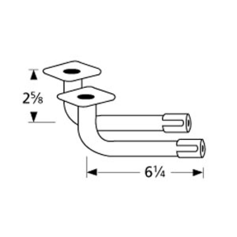 "9977002 L-Shaped Venturi Pair 6.25"" x 2.625"""