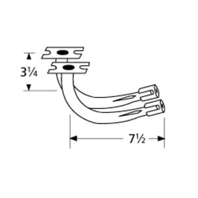 """9977902 Special Venturi Pair 7.5"""" x 3.25"""""""
