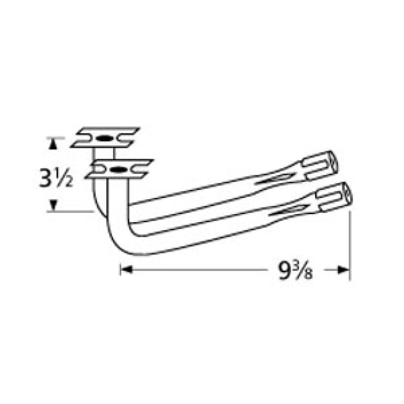 """9978402 Special Venturi Pair 9.375"""" x 3.5"""""""