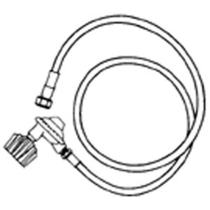 303603 Weber Lp Hose With Qcc-I Type One Regulator