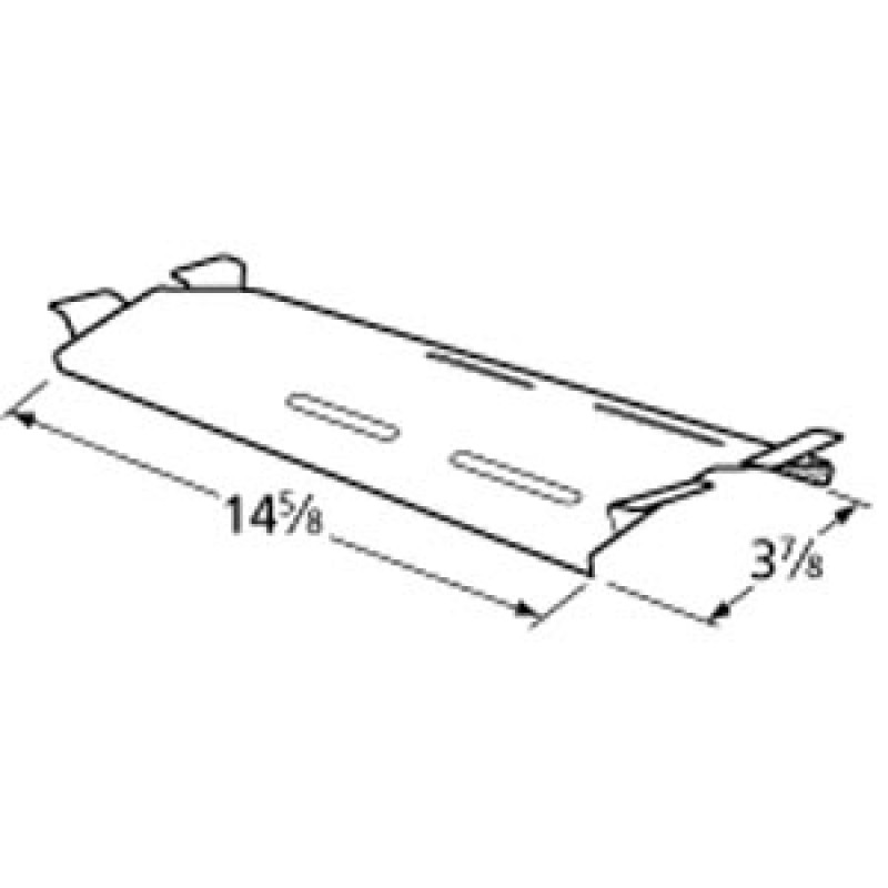"9990041 Stainless Steel Heat Plate 14.625"" x 3.875"""