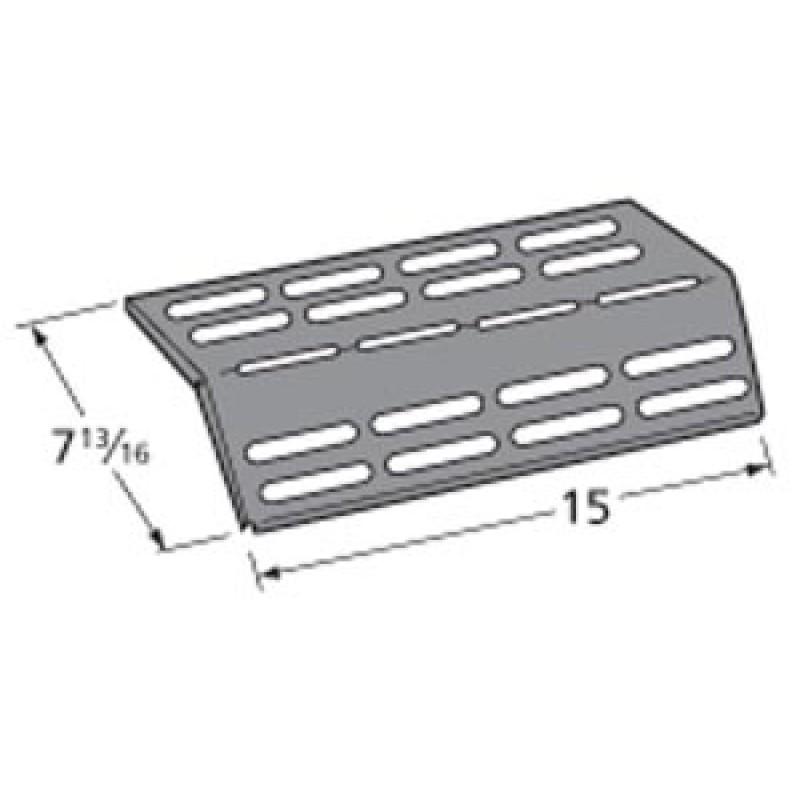 """9990161 Porcelain Steel Heat Plate 15"""" x 7.8125"""""""