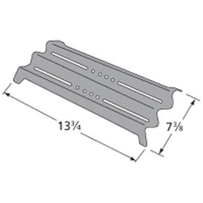 "P01705002E Kenmore Porcelain Steel Heat Plate 13.75"" x 7.375"""