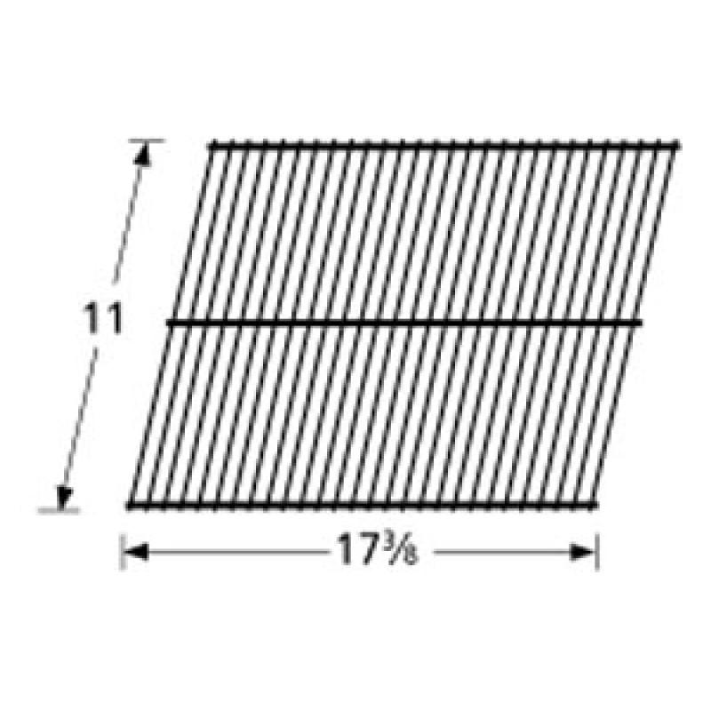 """9990211 Galvanized Steel Wire Rock Grate 11"""" x 17.375"""""""
