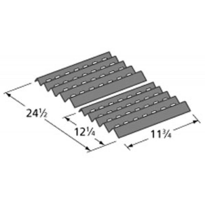 """600-4616-0 Brinkmann Porcelain Steel Heat Plate 11.75"""" x 24.5"""""""