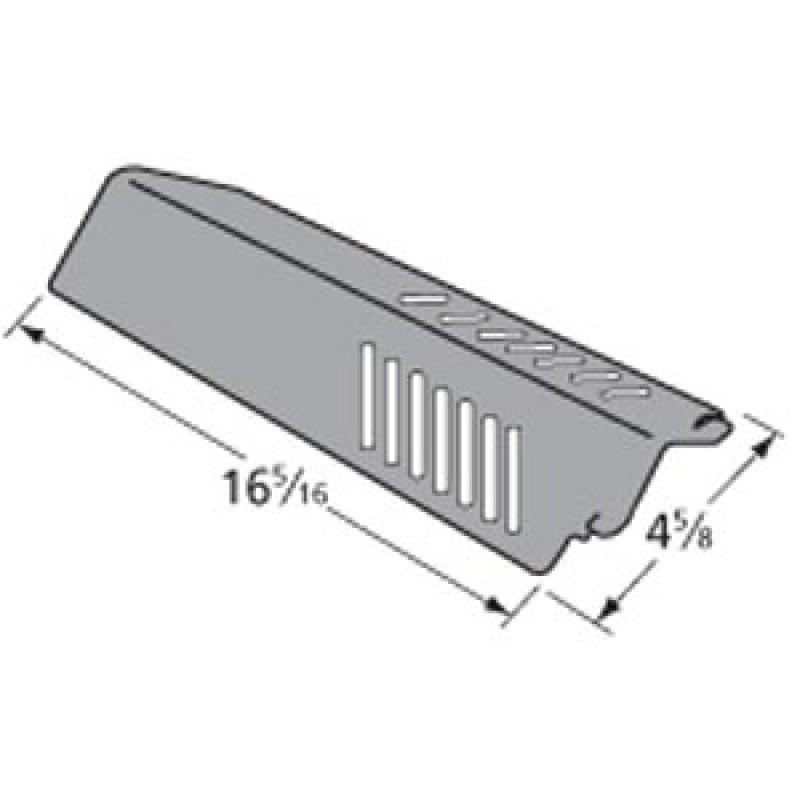 """9990291 Porcelain Steel Heat Plate 16.3125"""" x 4.625"""""""