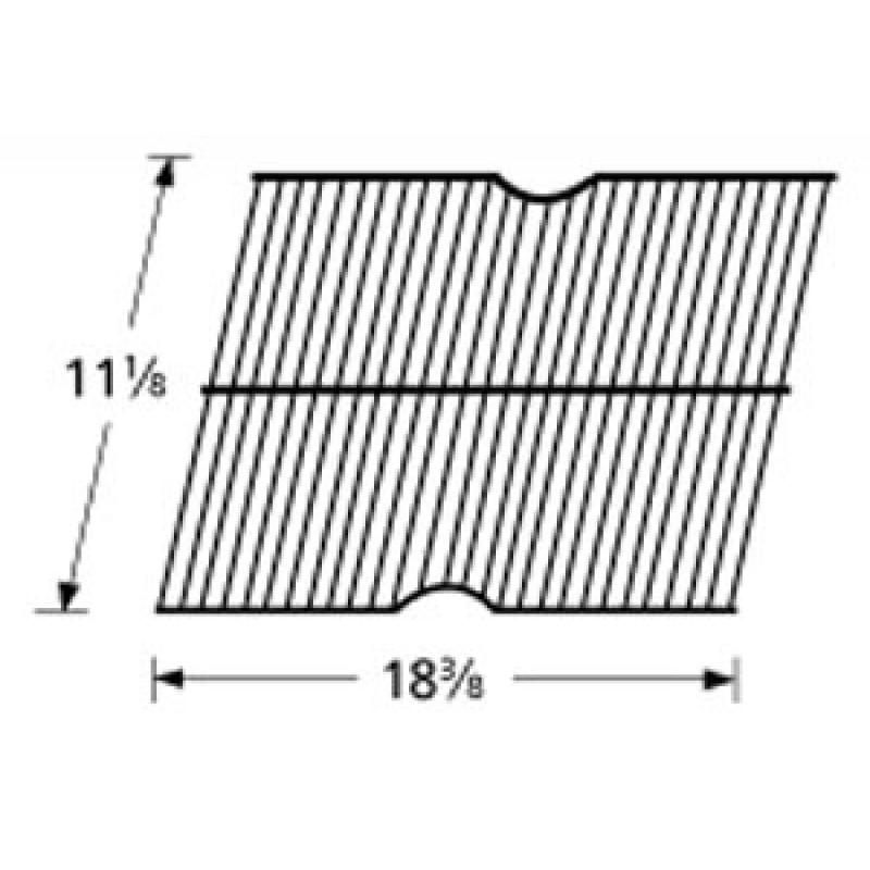 """9990301 Galvanized Steel Wire Rock Grate 11.125"""" x 18.375"""""""