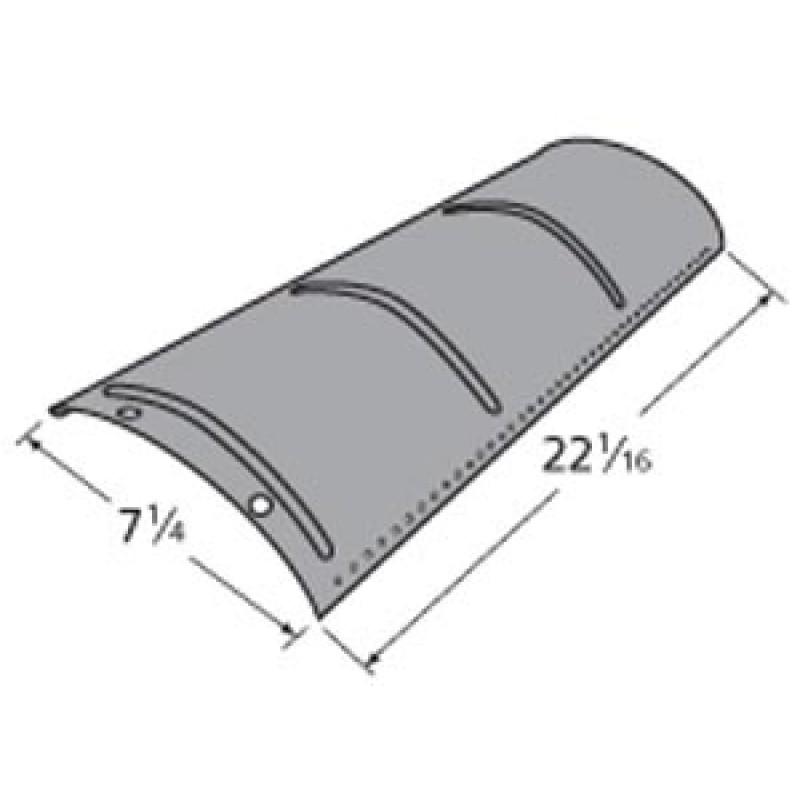 """9990591 Porcelain Steel Heat Plate 22.0625"""" x 7.25"""""""